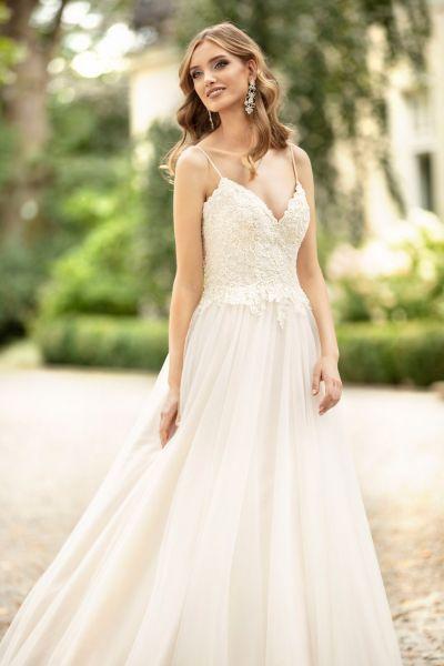 Brautkleid Malika (rose/ivory, ivory/ elfenbeinfarben)