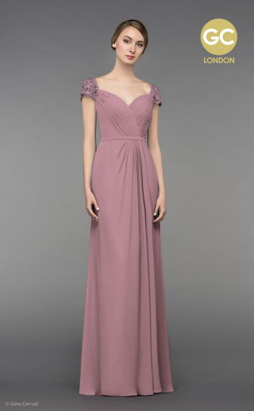 Abendkleid Giselle (altrosa)