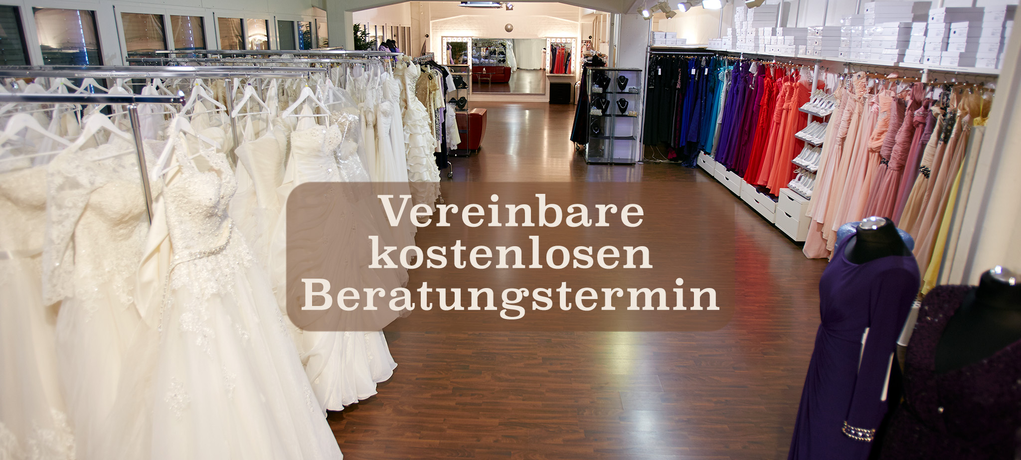 Showroom Zürch - Brautmode/Abendkleider  Samyra Fashion