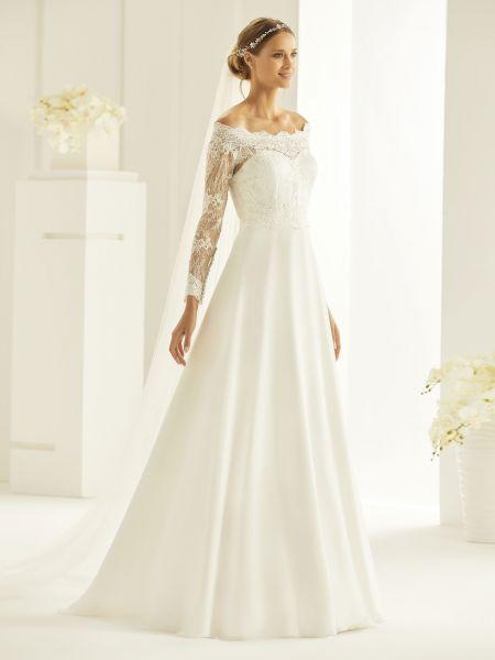 Brautkleid Heidi (elfenbeinfarben)