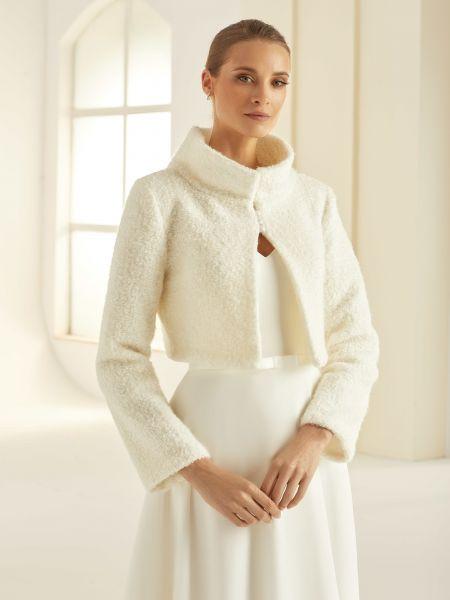 Brautjacke aus Wolle