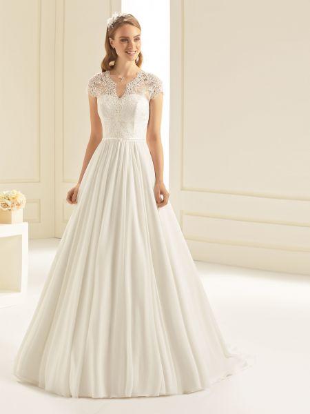 Brautkleid Omnia (elfenbeinfarben)