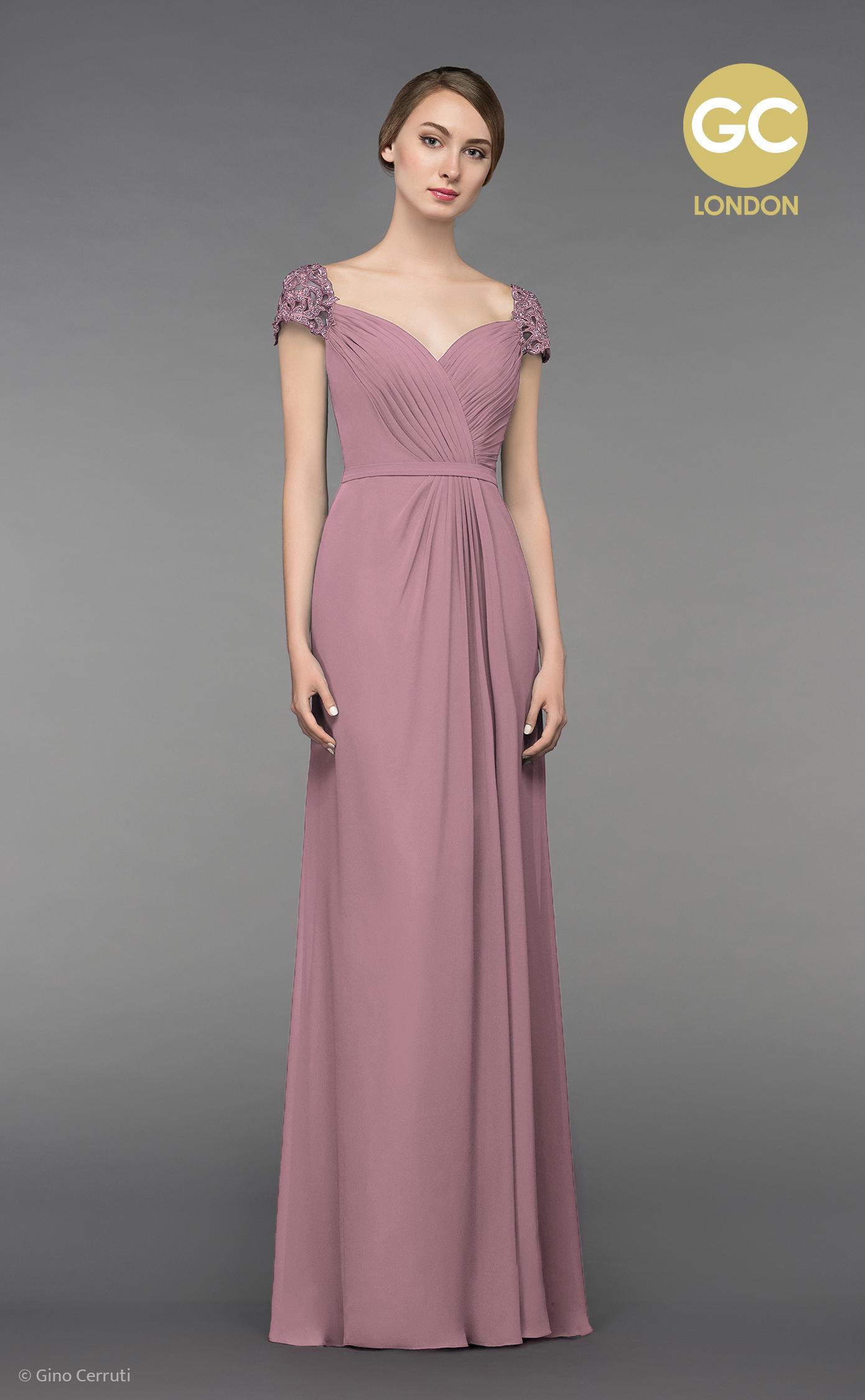 Abendkleid mit Schulterträgern | Samyra Fashion