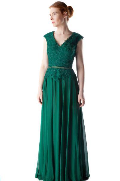 Abendkleid Mona (grün)