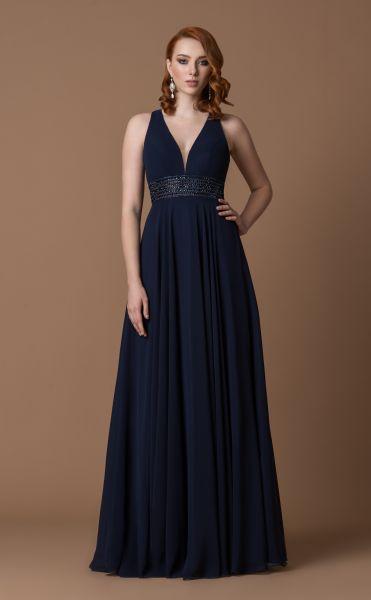 Abendkleid Anastasia (blau)