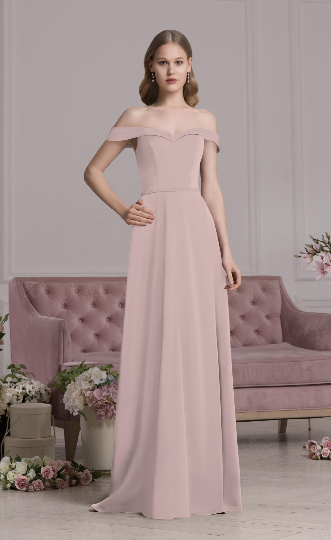 Abendkleid Valeria (altrosa)