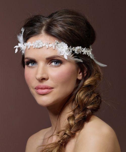 Haarschmuck BB-8392 für Brautfrisuren
