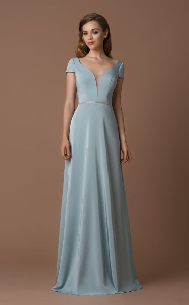 Abendkleid Rica (dusty aqua)