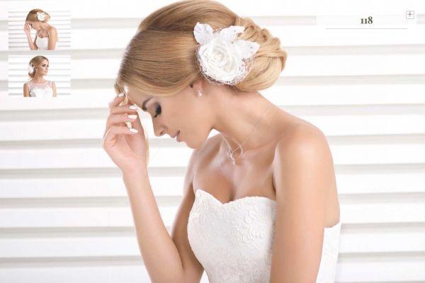 Eleganter Haarschmuck (elfenbeinfarben)
