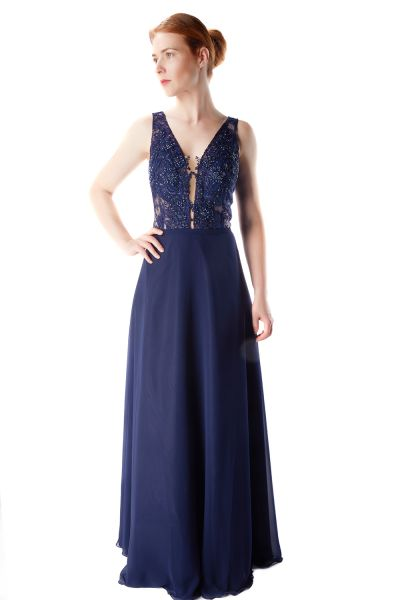 Abendkleid Mina (dunkelblau)