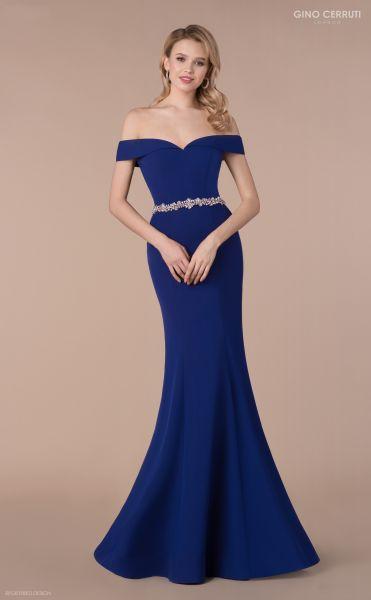 Abendkleid Priska (königsblau)