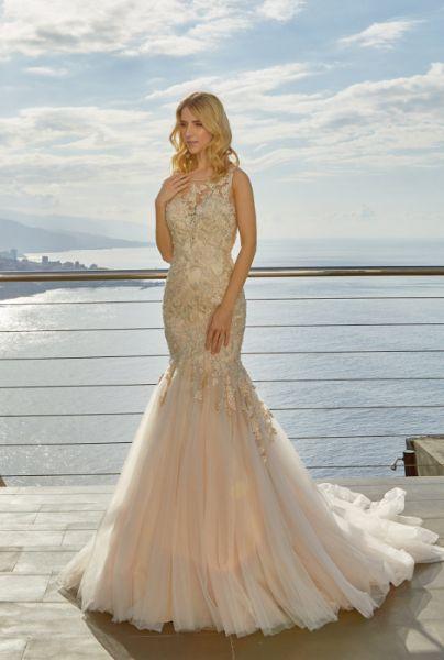 Brautkleid Delora von Diane Legrand (elfenbeinfarben)