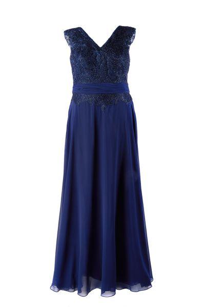 Abendkleid Milena (dunkelblau)