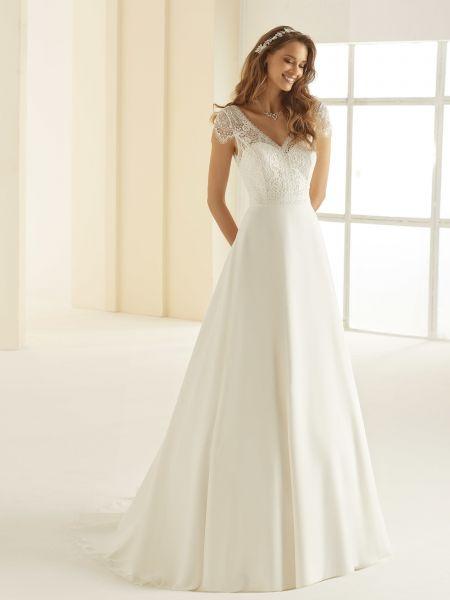 Hochzeitskleid Natalie (elfenbeinfarben)