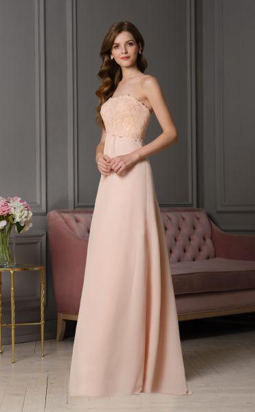 Abendkleid Estelle (peach)