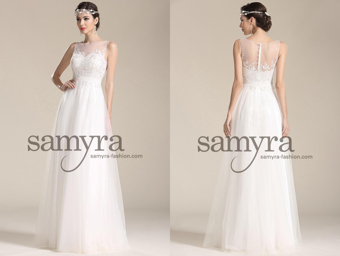 Hochzeitskleider – Modell Gina