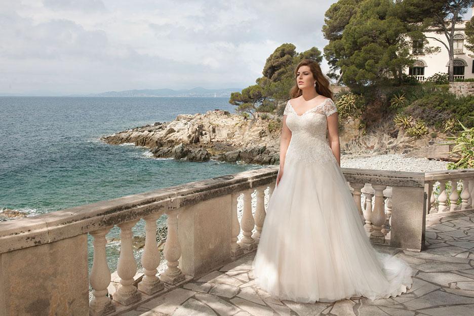 Brautkleider für Übergrössen