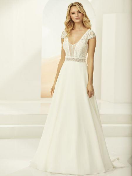 Hochzeitskleid Arleta (elfenbeinfarben)