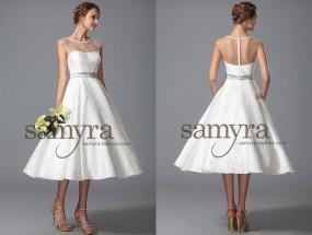 Brautkleider knielang