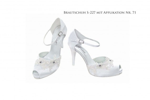 Brautschuh S-227