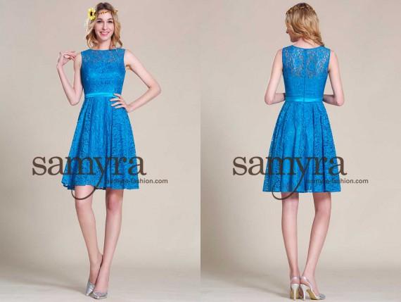 Abendkleider knielang – Modell Bonnie