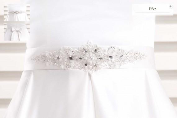 Gürtel für Brautkleid PA-2
