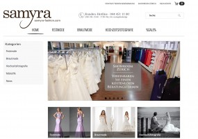 Neuer Internetauftritt von Samyra Fashion